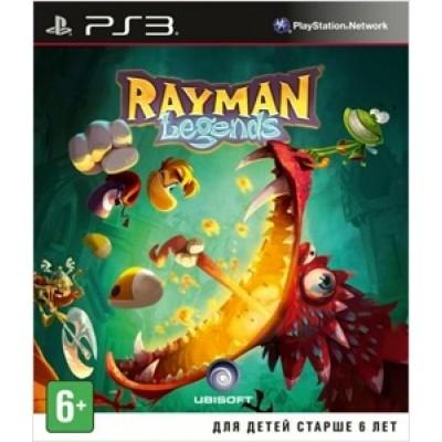Rayman Legends [PS3, русская версия]