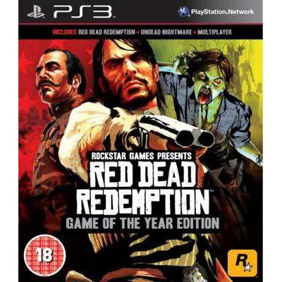 Red Dead Redemption Game of the Year Edition [PS3, английская версия]