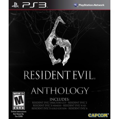 Resident Evil 6 Anthology [PS3, русские субтитры]