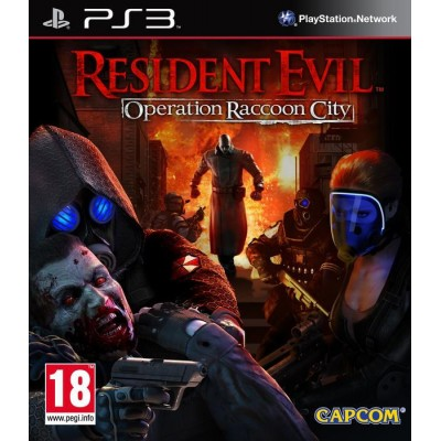 Resident Evil Operation Raccoon City [PS3, русские субтитры]