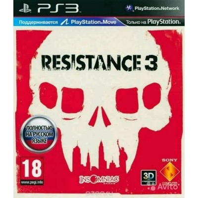 Resistance 3 [PS3, русская версия]