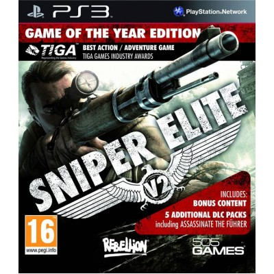 Sniper Elite V2 Game of The Year Edition [PS3, английская версия]