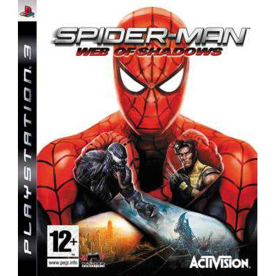 Spider-Man Web of Shadows [PS3, английская версия]