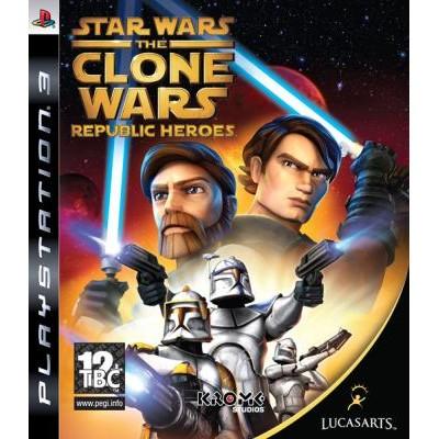 Star Wars the Clone Wars Republic Heroes [PS3, английская версия]