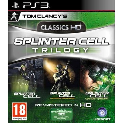 Tom Clancys Splinter Cell Trilogy Classics HD [PS3, английская версия]