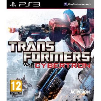 Transformers Fall of Cybertron (Падение Кибертрона) [PS3, английская версия]