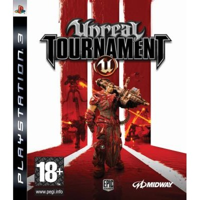 Unreal Tournament 3 [PS3, английская версия]