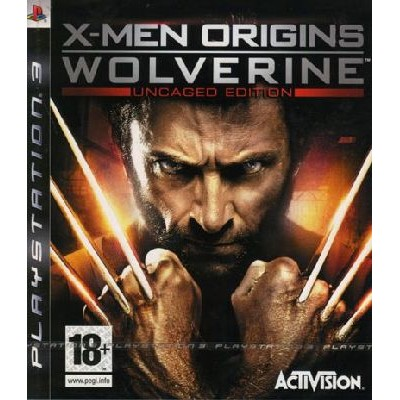 X-Men Origins Wolverine - Uncaged Edition [PS3, английская версия]