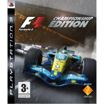 F1 (Formula 1) Championship Edition [PS3, английская версия]