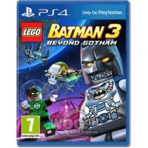 LEGO Batman 3: Beyond Gotham (Покидая Готэм) [PS4]