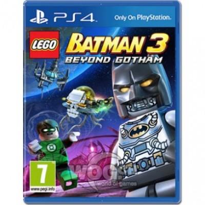 LEGO Batman 3: Beyond Gotham (Покидая Готэм) [PS4, русские субтитры]