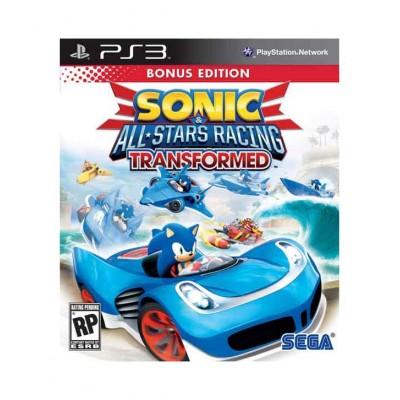 Sonic & All Stars Racing Transformed [PS3, английская версия]